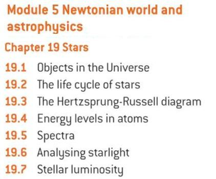 OCR A level Physics: Stars