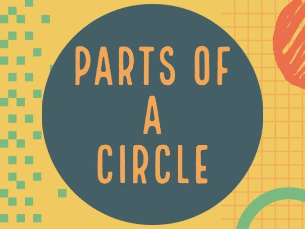 Name The Parts Of A Circle | Geometry Video