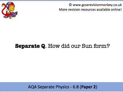 Revision Cards - AQA Separate Physics 6.8