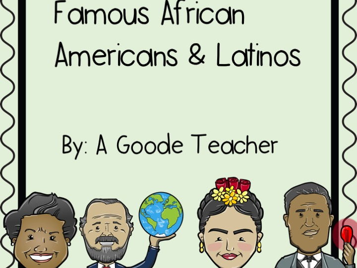 Reading Comprehension Passages: Famous African Americans and Latinos Vol. 1