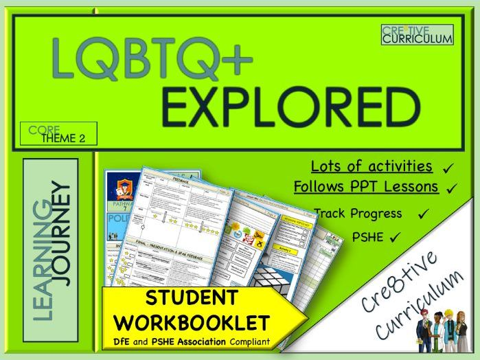 LGBT+ Work Booklet - PSHE 2020