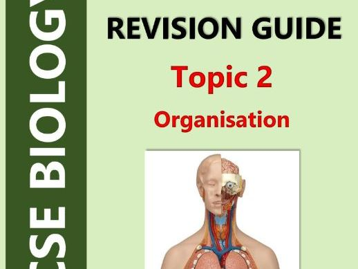 AQA GCSE Biology (9-1, Triple) - Topic 2 Revision Guide (Organisation)