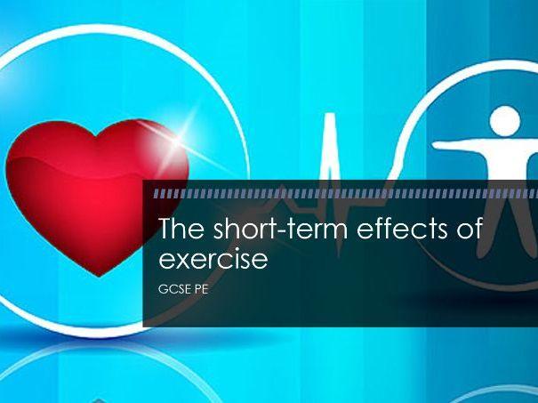 Edexcel GCSE PE - The short term effects of exercise