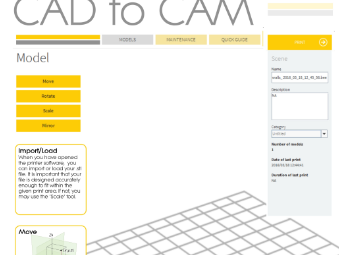 CAD to CAM poster