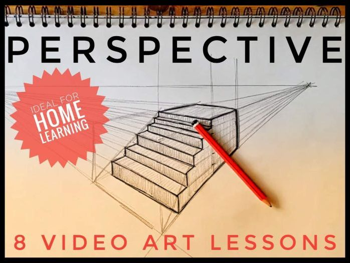 Home Learning. Art Video Lessons. Perspective Drawing