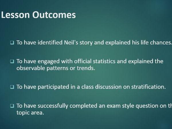 Social Stratification - GCSE Sociology