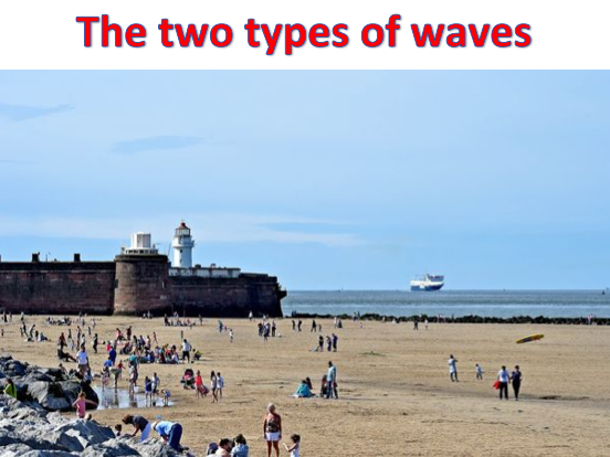 KS3 Coasts - The two types of waves