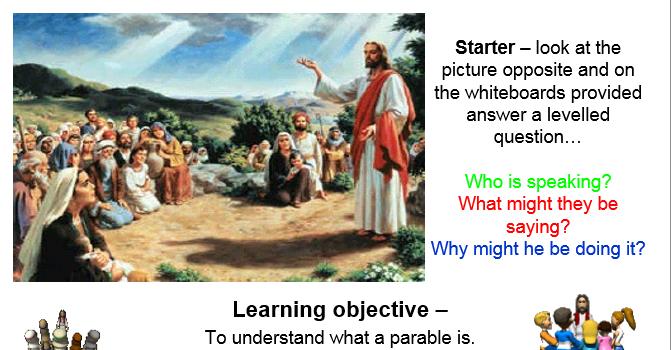 Christian Parables lesson