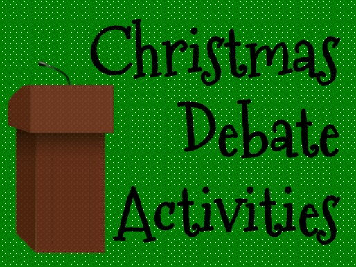 Christmas Debate Activity