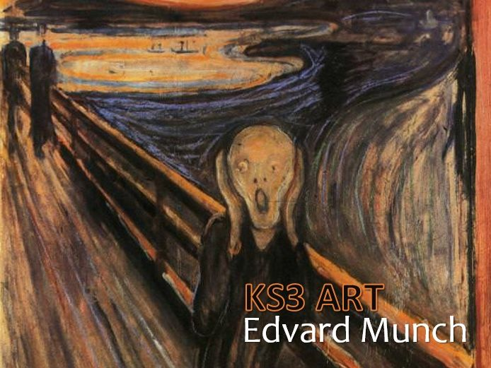 Edvard Munch in Art (4 lessons & 1 homework)