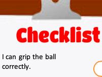 Cricket Bowling Check-list Self Assess card