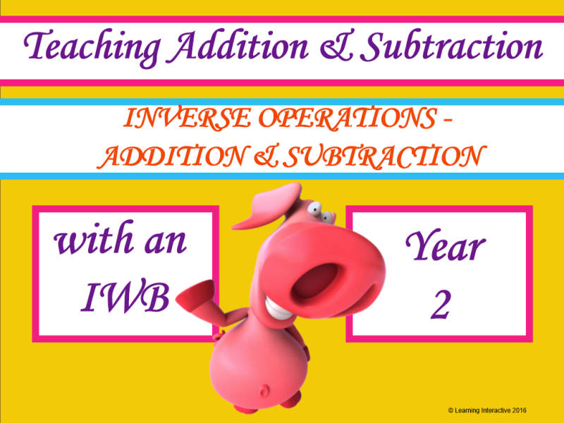 Inverse Operations with Addition and Subtraction - Year 2