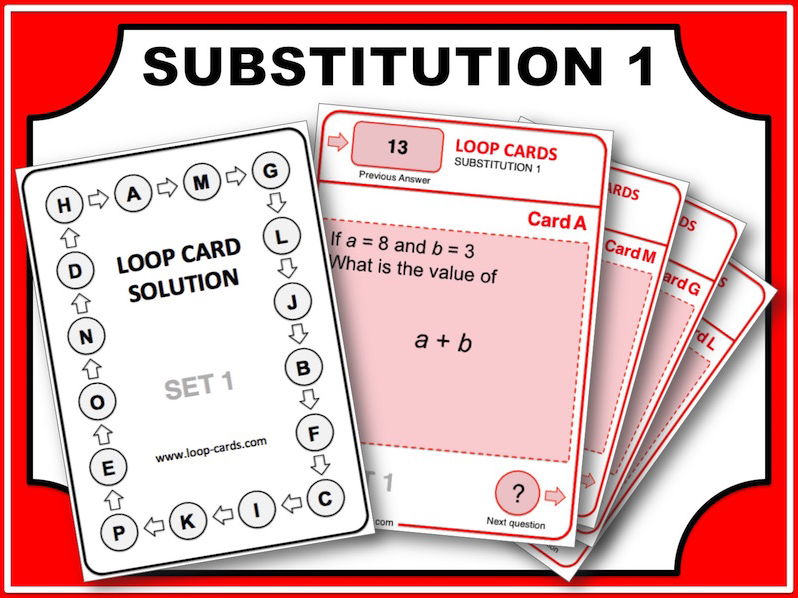 Loop Card Races (Substitution 1)
