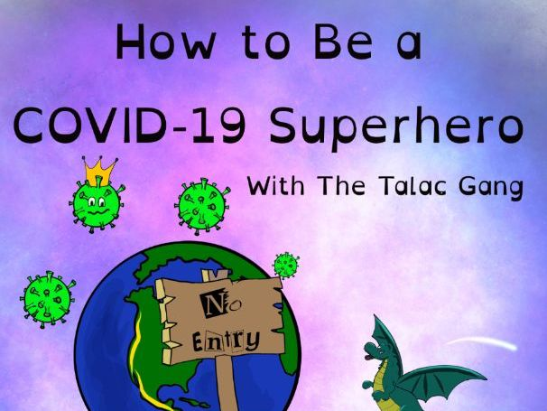 How to be a COVID-19 Superhero - Maths, literacy & well-being