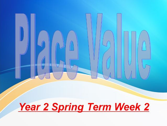 Year 2 Spring Term Week 2 Place Value and Ordering