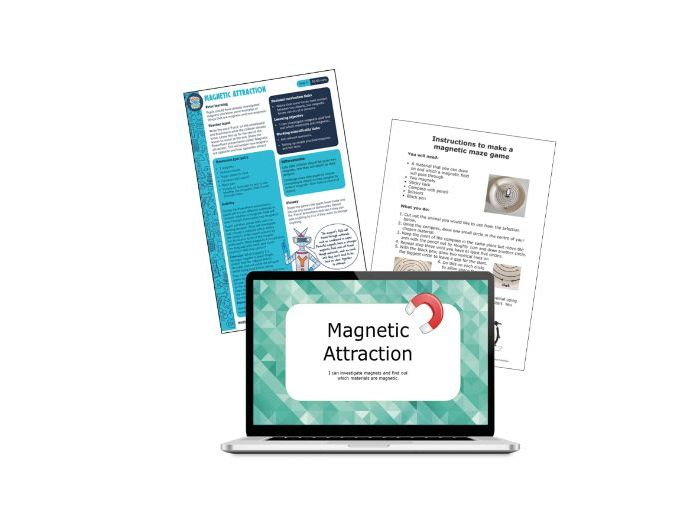 Yr3  Science lesson: Magnetic attraction