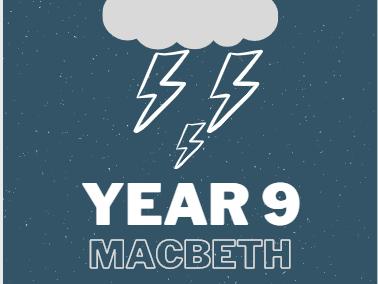 Y9 'Macbeth' Study