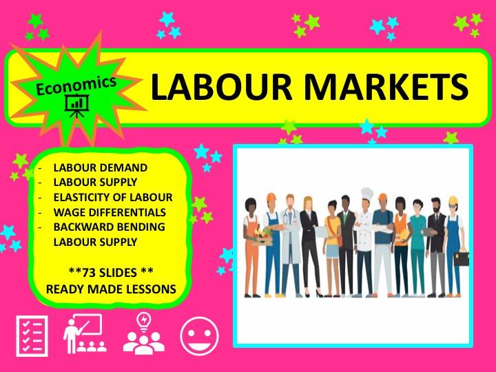 A Level Economics Labour Markets
