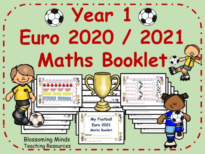 Year 1 Euro 2020 / 2021 Football Maths Booklet