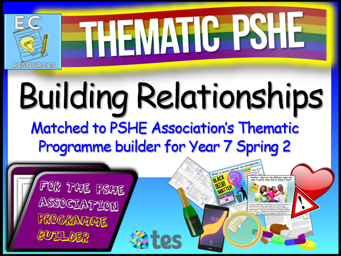 Building Relationships Thematic PSHE