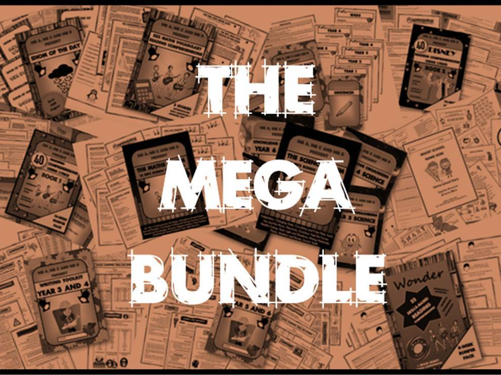 *MEGA BUNDLE* - All Mr A, Mr C & Mr D Resources!