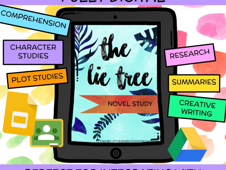 The Lie Tree Novel Study