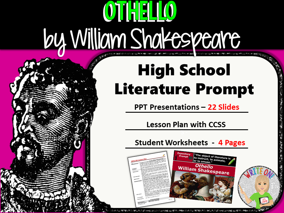 a literary analysis of honesty in othello by william shakespeare