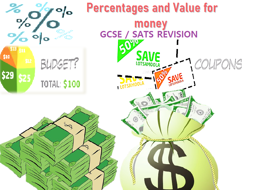 Percentages and Value for Money .
