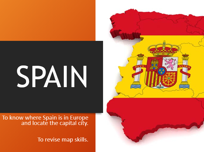 Introducing Spain: Spain Geography Topic Lesson KS2