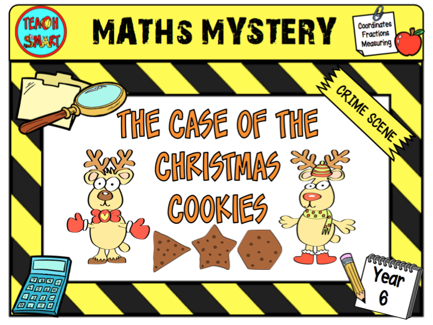 The case of the christmas cookies year 6 Maths Mystery