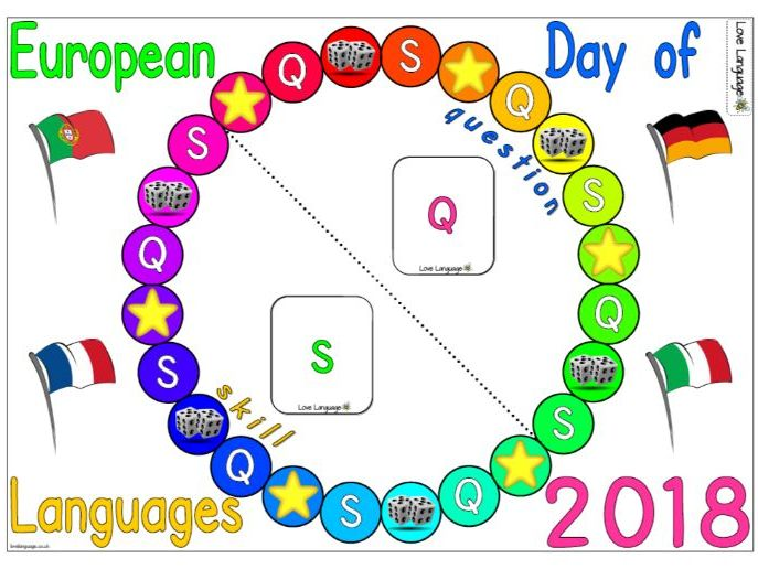 European Day of Languages 2018 Board Game