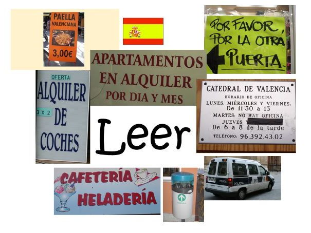 Spanish Photos for Reading Comprehension