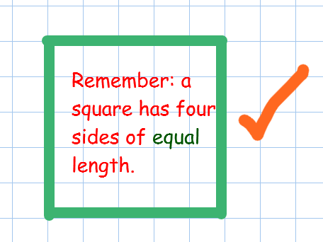 Drawing squares, triangles, rectangles step by step guide