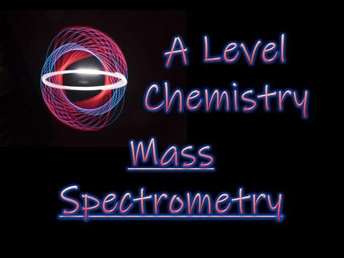 Mass Spectrometry - Interpreting Spectra - A Level Chemistry