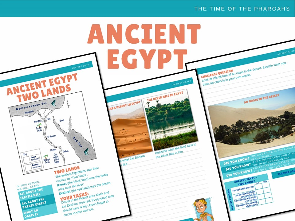 Ancient Egypt - 6 history activities
