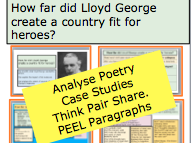*FULL LESSON* How far did Lloyd George create a country fit for heroes? 20th Century History Lessons