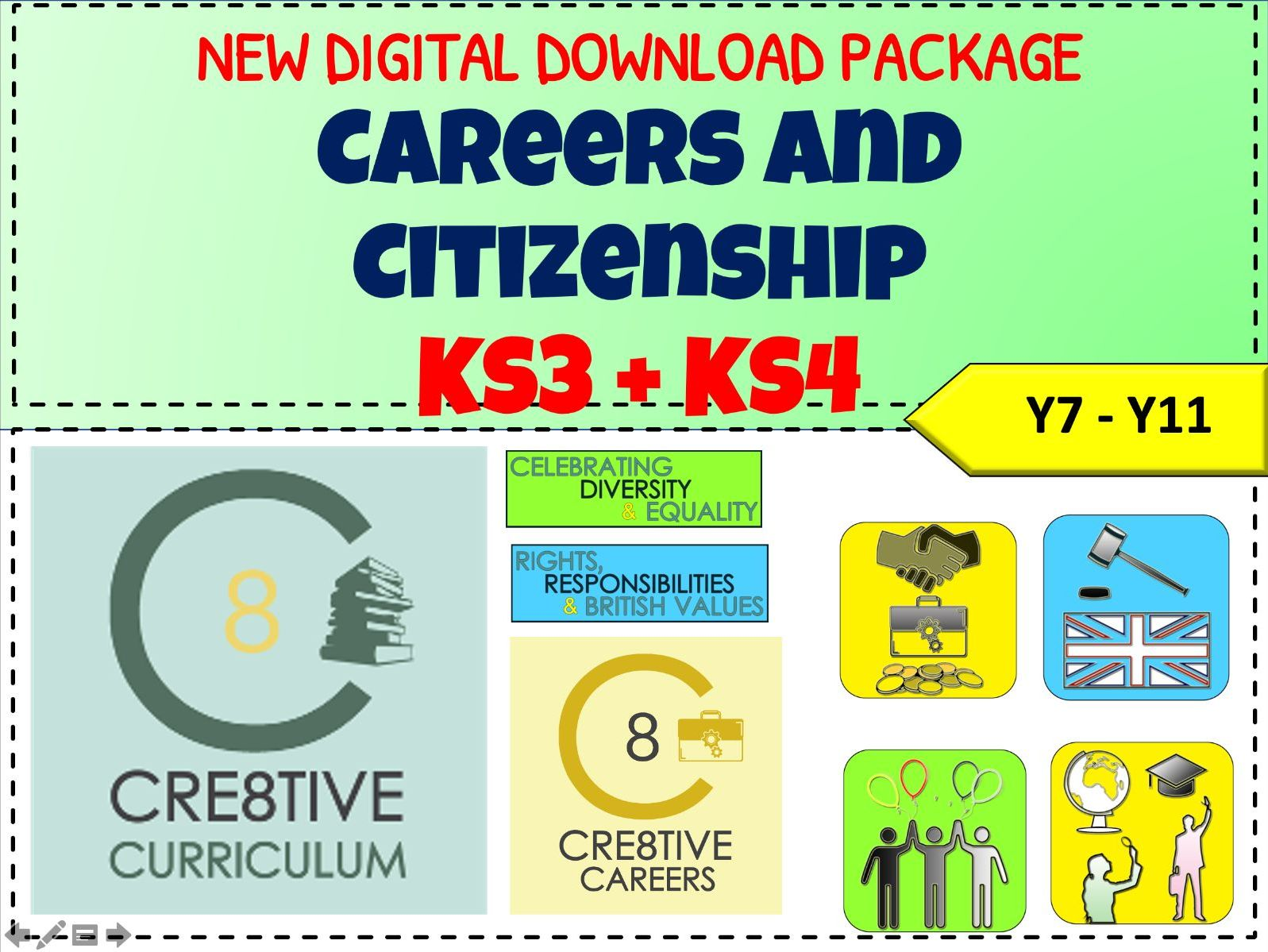 Careers + Citizenship KS3 KS4