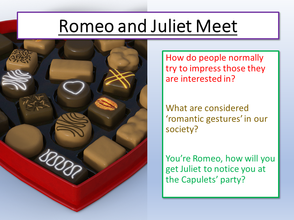 Romeo and Juliet First Meet