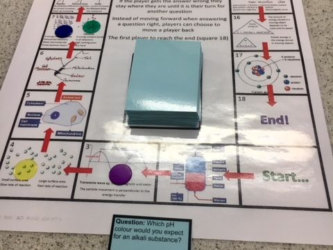 Covalent bonding board game GCSE Edexcel combined science 9-1 (can be used with any exam board)