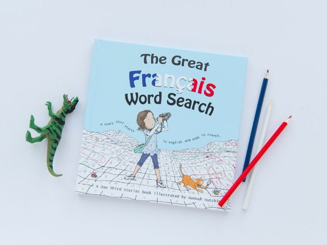 The Great Français Français Word Search - Audiobook