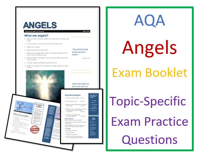 AQA Islam Beliefs: Angels Exam Booklet