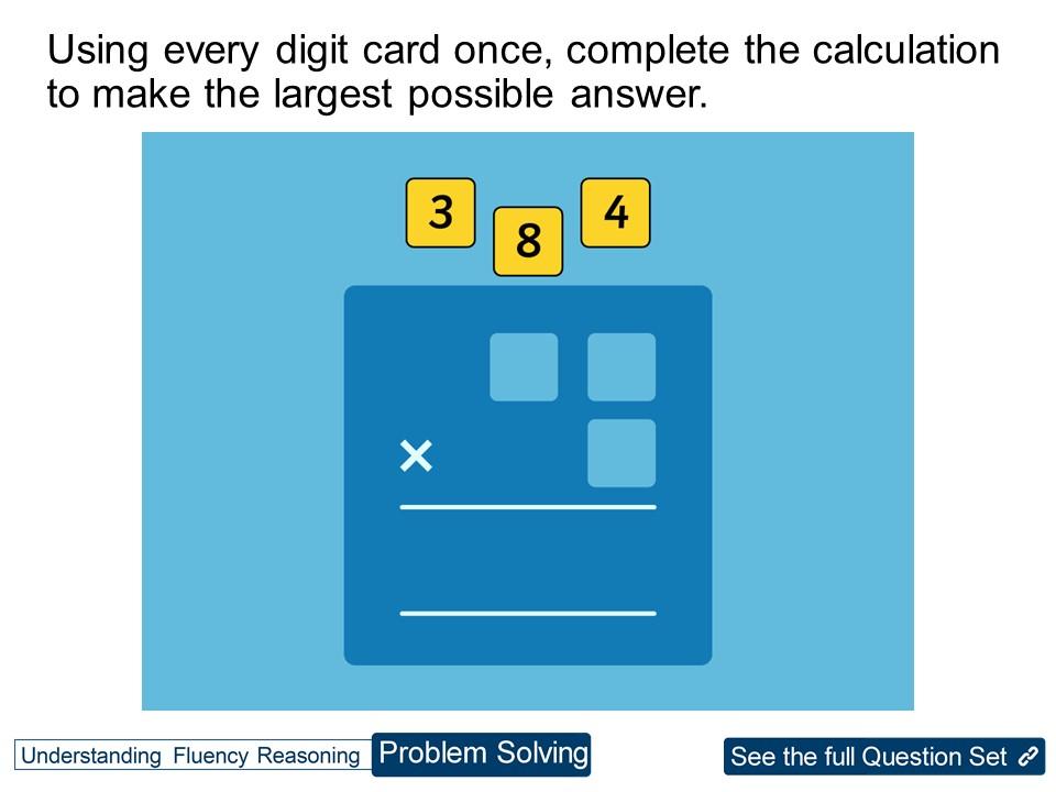 Year 3 Multiplication:  2-Digits by 1-Digit