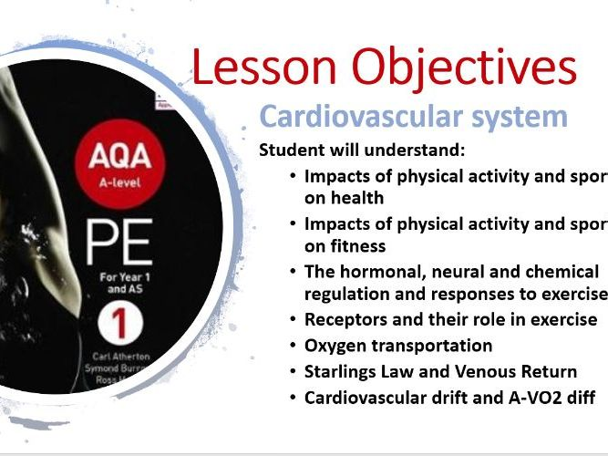 A Level NEW: Cardiovascular System PPT