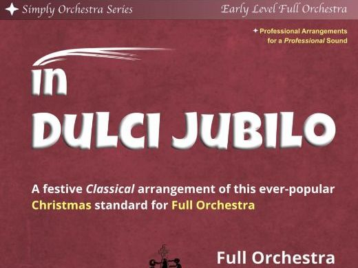 In Dulci Jubilo (Full Orchestra)