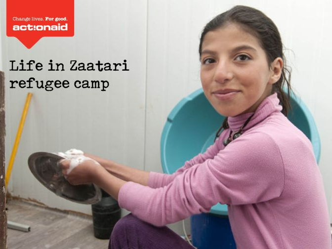 Israa' s Story - refugee case study