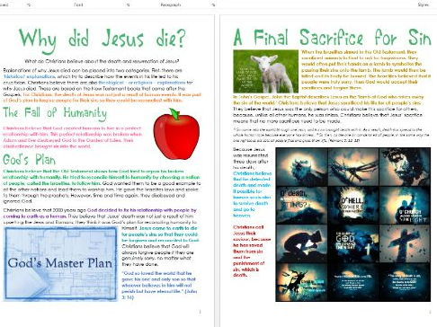 Jesus in Jerusalem: Why did Jesus die? Differentiated Activity Sheets