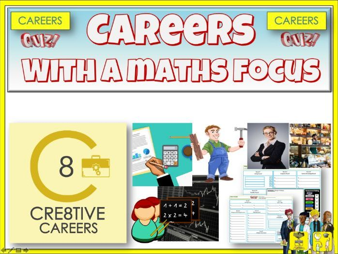 Maths and Careers Quiz