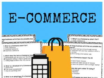 e-Commerce - Multiple Choice Quiz