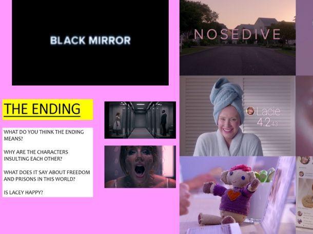 Black Mirror 'Nosedive' Lesson - GCSE English