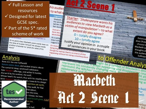 Act 2 Scene 1 Macbeth GCSE English Literature 9-1